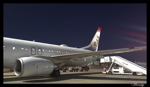 Laponia viaje Madrid Helsinki - Nuestro avión de Norwegian hacia Helsinki