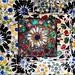 Park Güell Floral Mosaic ~by~ Antoni Gaudí i Cornet by FelixSS©