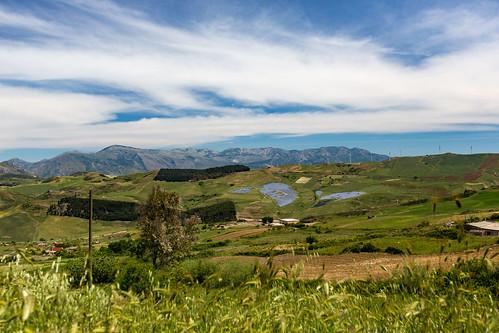 Sizilien Landschaft
