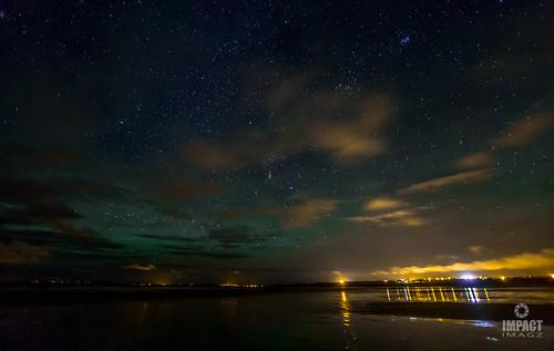 Airglow over Gress Beach