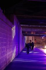 Paris en D�cembre 2015 113 - dans le tunnel de la rue Proudhon