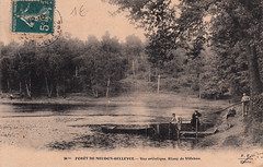 24 bis. Forêt de Meudon-Bellevue. - Vue artistique. Etang de Villebon (c.1905)