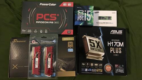 Computer 2016 mise en place