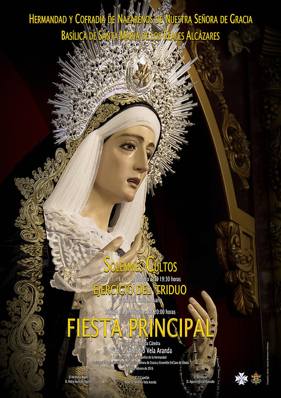 Cartel Fiesta Principal Virgen de Gracia 2016 Web