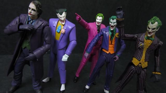 【玩具人SIN投稿】DC Collectibles Arkham Knight & Joker 阿卡漢騎士 & 小丑分享