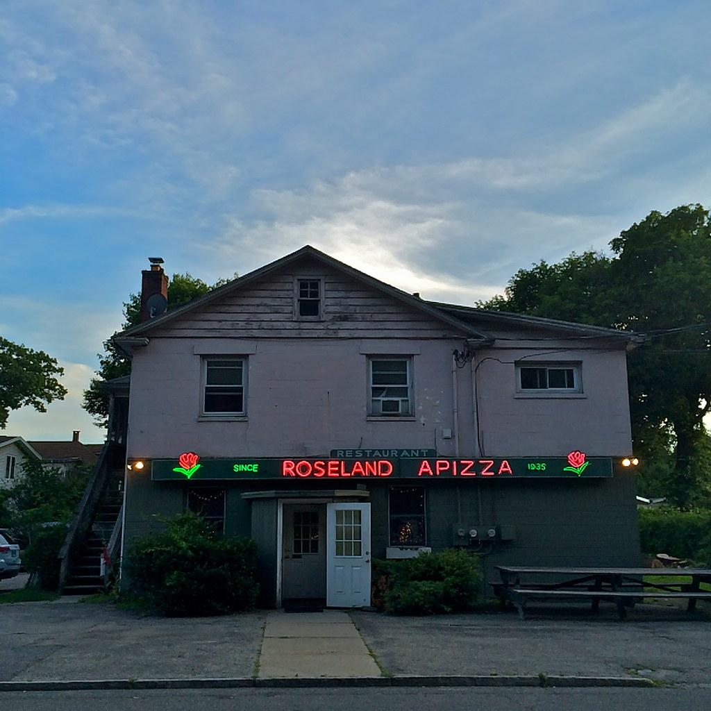 Roseland Apizza Derby Connecticut, Retro Roadmap