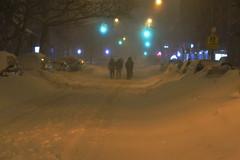 Blizzard, Astoria, New York