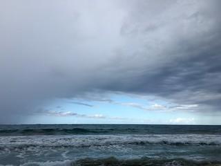 Image of La Playa @ Ocean Park Ocean Park Beach near San Juan. ocean rain