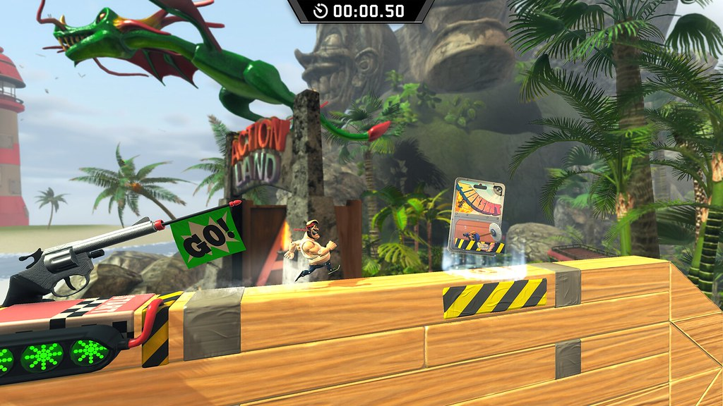 PS Plus 'Vote to Play' returns: Action Henk! vs Assault Android