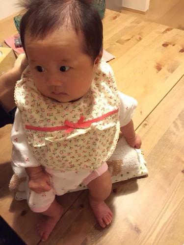 マホさん 生後2か月