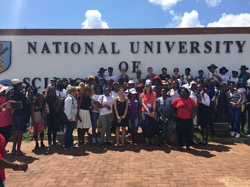 TechWomen Zimbabwe Delegation at National University of Science and Technology February 2016