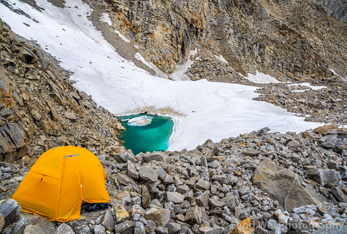 Karphogoro Campsite, Biafo Hispar Snow Lake Trek, Central Karakoram National Park, Gilgit-Baltistan, Pakistan