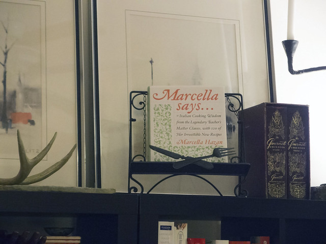 Under Marcella's watchful eye