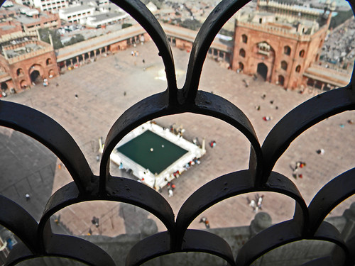 From the main mosque in Delhi, overlooking the square