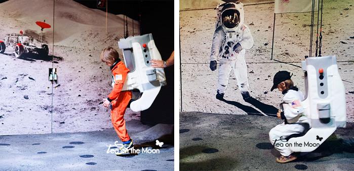 ciudad del espacio Toulouse, caminando como astronautas