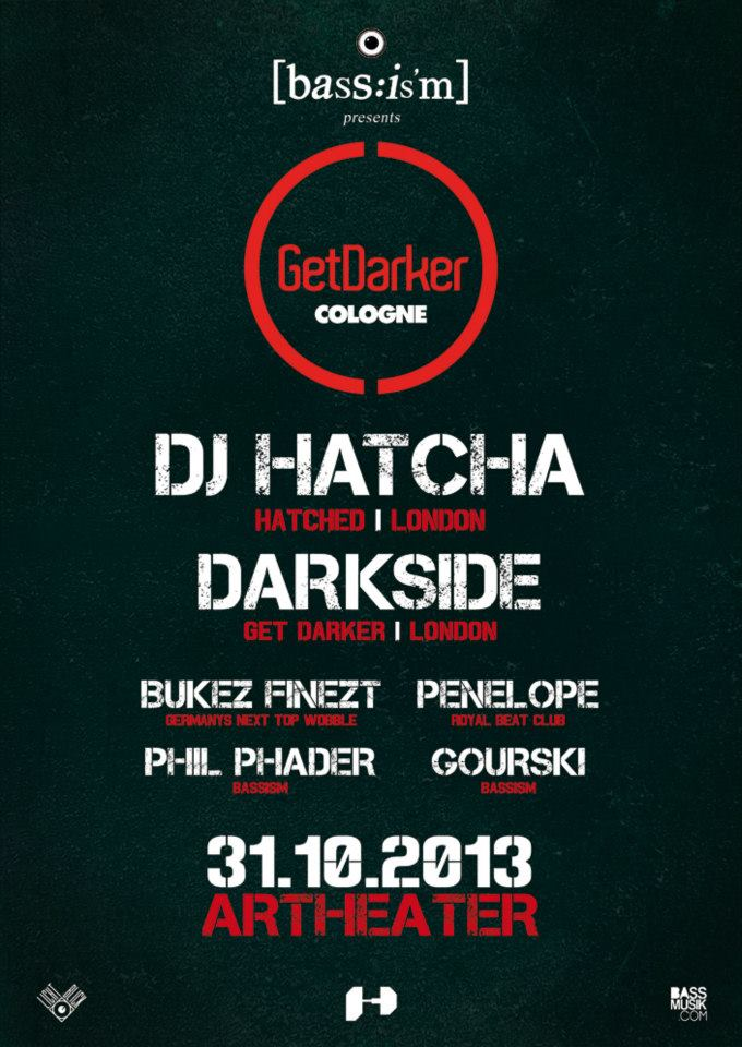 GetDarker in , Cologne – Germany – 31.10.2013
