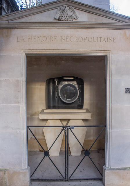 la memoire necropolitaine Pere Lachaise