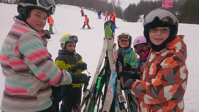 1. Tag Schneesportschule 2016