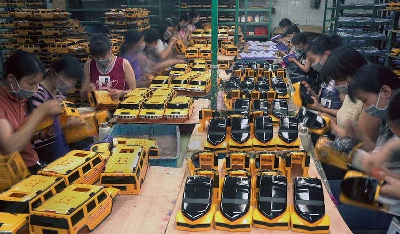 Toy Story︰中國女工與她所製作的玩具9
