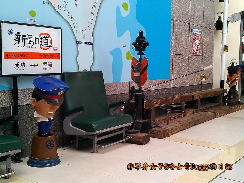 臺鐵新烏日vs高鐵台中站13