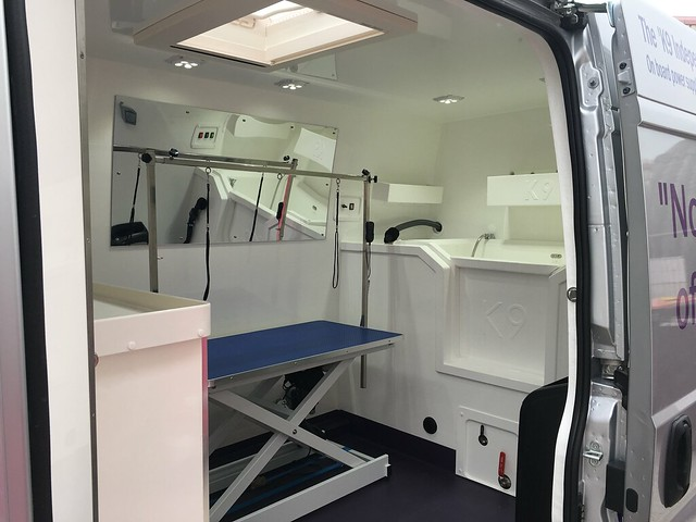 K9 Independence Grooming Van Conversion