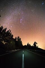 Road to the stars - Teide national park, Canarias, Tenerife, Spain