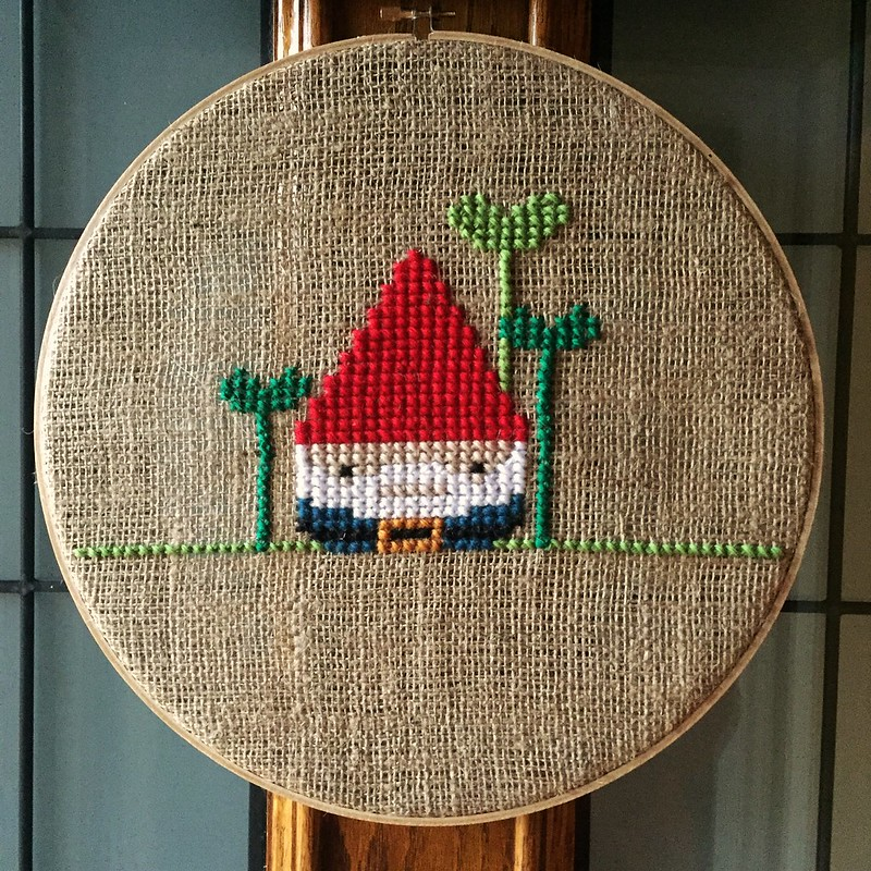 Gnome Door Decor