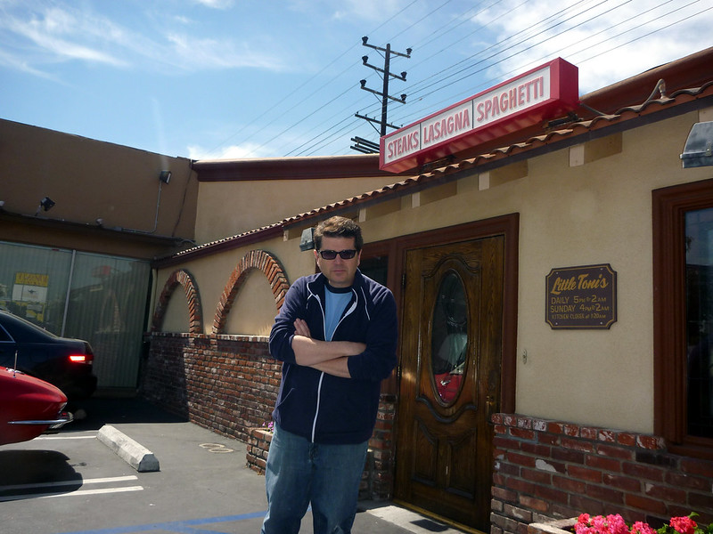 Little Toni's Restaurant - Los Angeles, CA - Keith Valcourt For Retro Roadmap