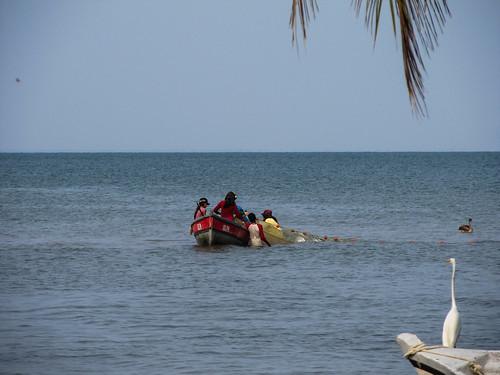 Lívingston: pêcheurs béliziens