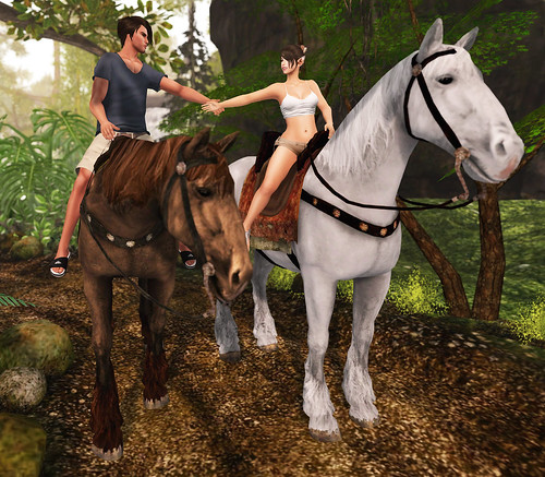 [SRB] Day 2 Rainforest Vacation Horseback Riding