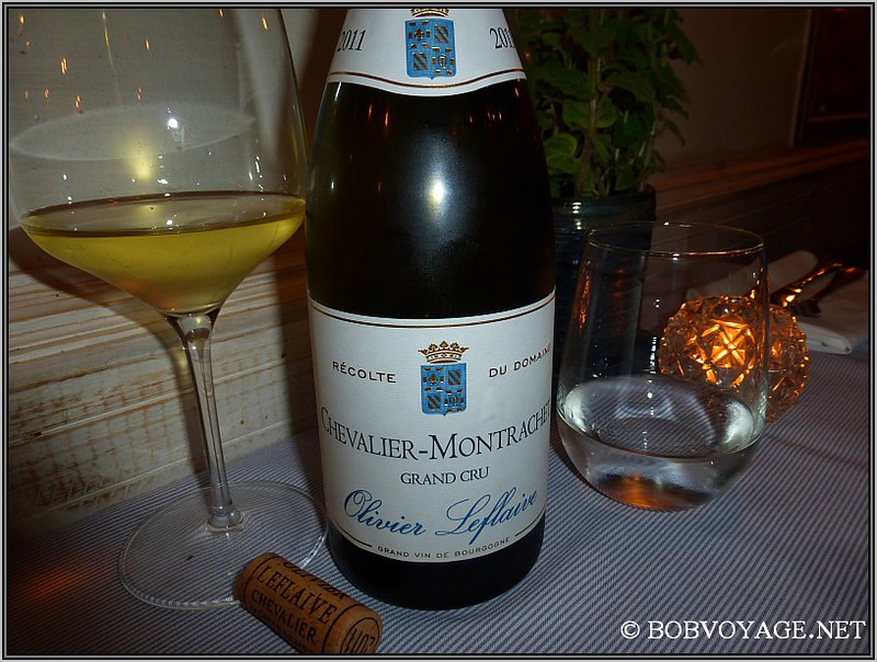 Domaine Olivier Leflaive Chevalier Montrachet Grand Cru Recolte du Domaine 2011