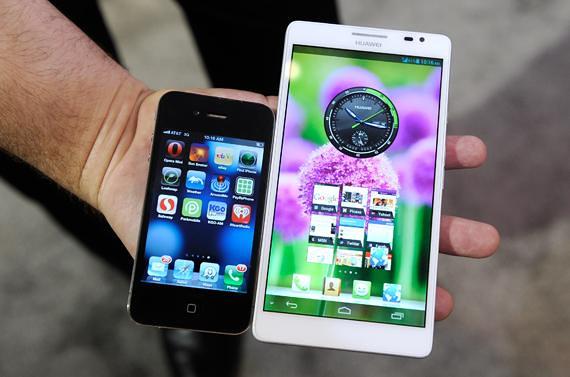 smartphone et phablette