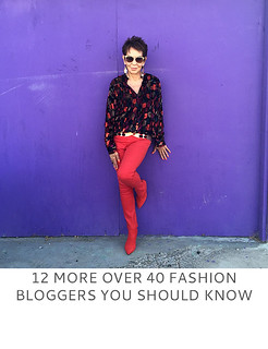 12 More Over 40 Fashion Bloggers You Should Know