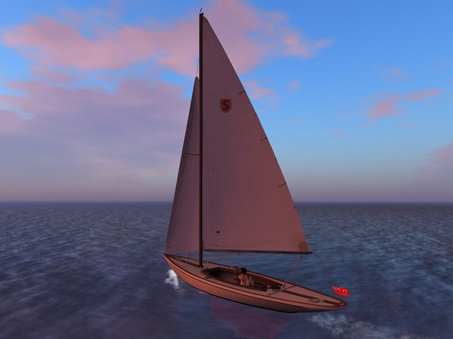Sailing in Second Life