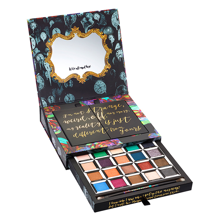 Urban Decay x Alice Through the Looking Glass Collection Swatches