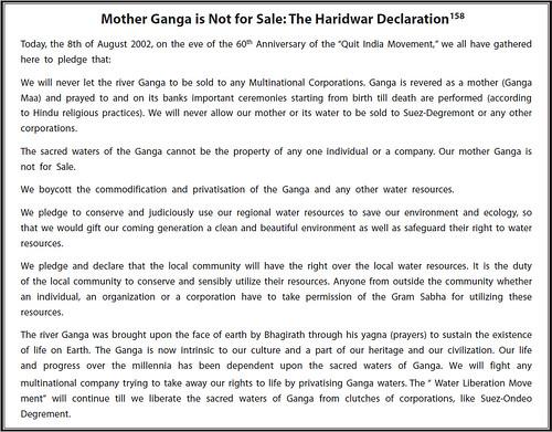 Water Privatisation | Hindi Water Portal