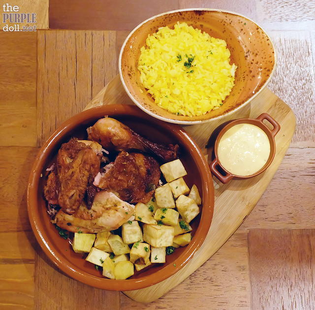 Enye Roasted Chicken with Root Vegetables (P490)