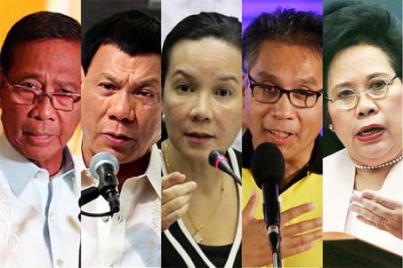 presidentiables-2016