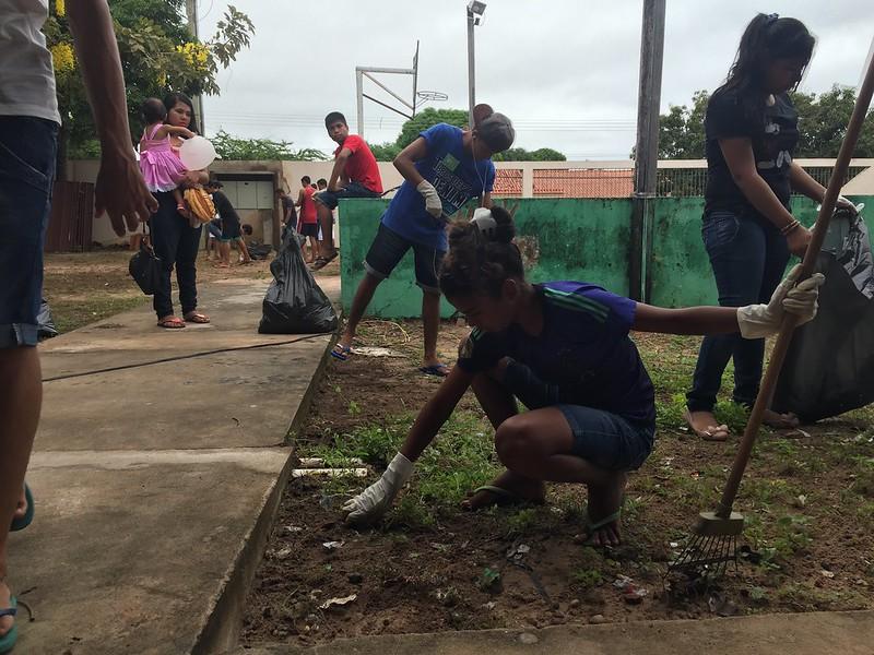 Em sábado letivo, escola Barão do Tapajós executa projeto de meio ambiente e biologia