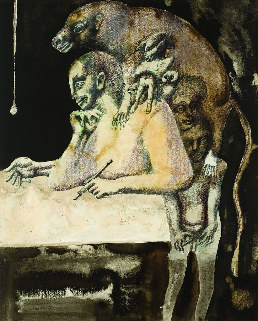 Jan Lebenstein - Les Siens, 1969