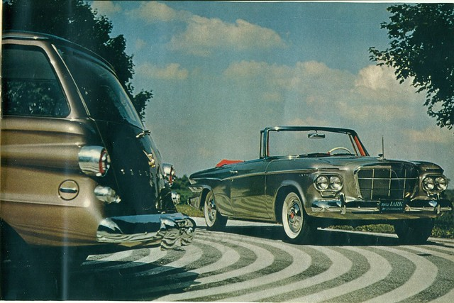 1962 Studebaker Lark Convertible and Station Wagon