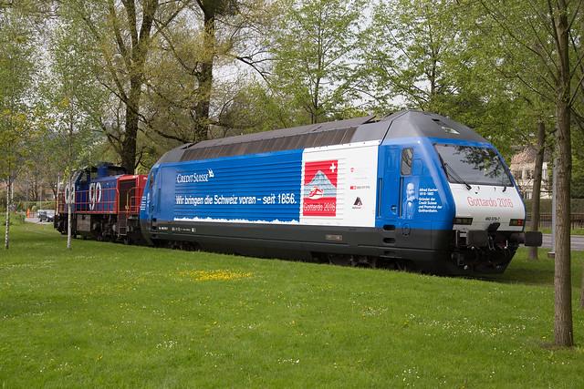 SBB Re 460 079 Credit Suisse / Gottardo2016 in Luzern Verkehrshaus