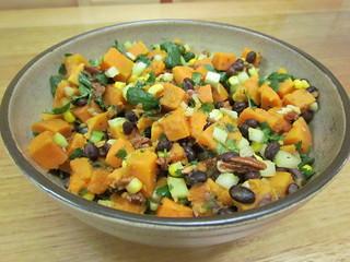 Black Bean and Sweet Potato Salad