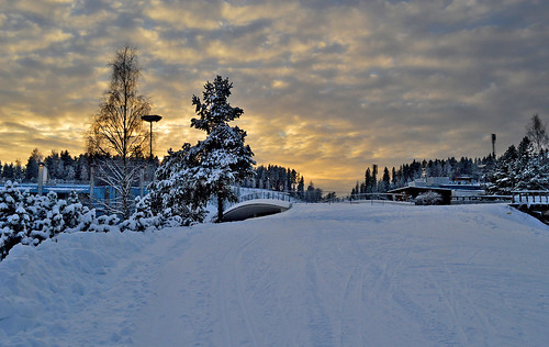 trees winter light sunset sky snow nature clouds suomi finland landscape evening nikon talvi maisema ilta luonto auringonlasku nikond3200 taivas d3200 coldsunset talvimaisema