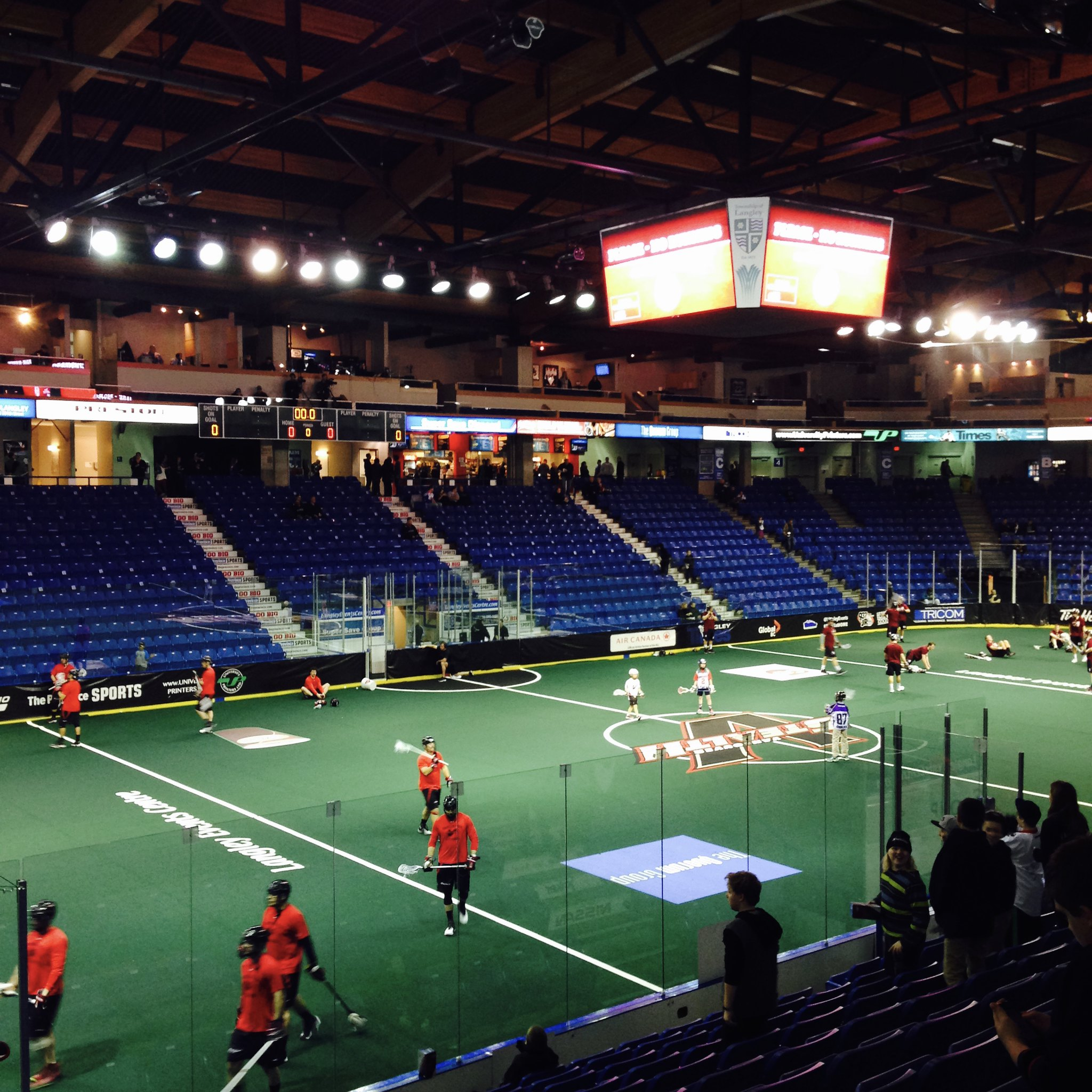 Vancouver Stealth at Langley Events Center