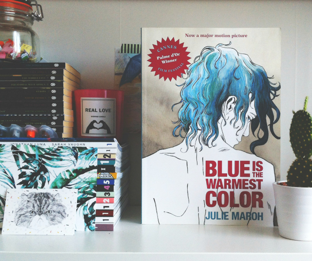 uk book blog vivatramp blue is the warmest color graphic novel