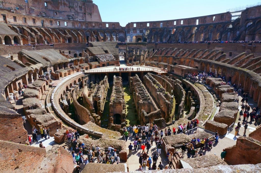 Roman Colosseum Floor