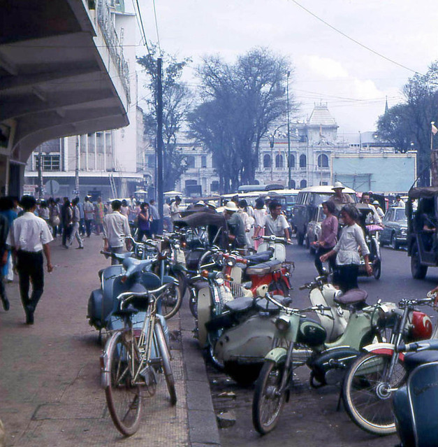 Saigon 1968 - Nguyen Hue Boulevard - Photo by John F. Cordova