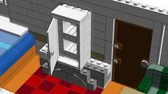 LEGO Large Scale Caravan Interior