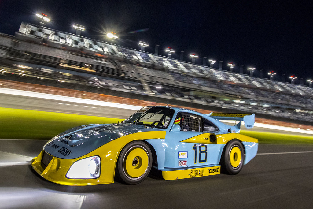 Porsche 935 Tracking Shots Daytona